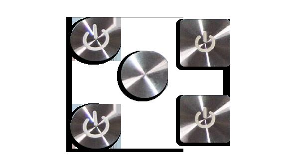 CD纹标牌汽车金属标牌