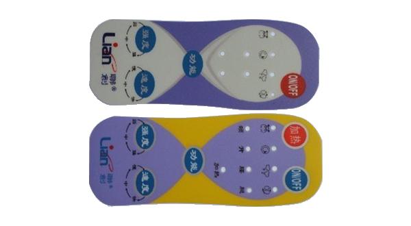 电子电器产品所需要按键PC贴牌,PVC磨砂标牌